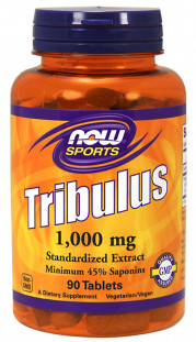 NOW Tribulus 1000 мг (90 таб)