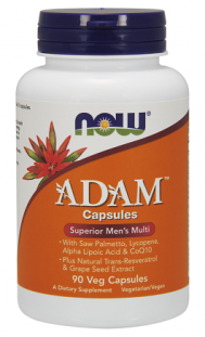NOW Adam Mens Multivitamin (90 вег.кап)