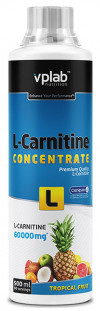 VPLab L-Carnitine Concentrate (500 мл)