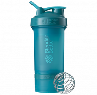 Шейкер BlenderBottle ProStak морской голубой (624 мл)+2 контейнера