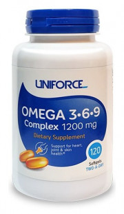 UNIFORCE Omega 3-6-9 1200 mg (120 кап)