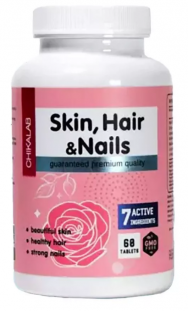 CHIKALAB Skin Hair Nails (60 таб)